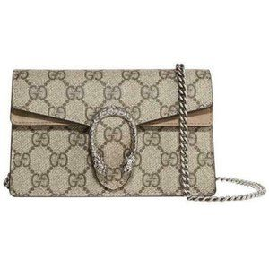 Gucci Mini Dionysus Super Beige Gg Supreme Canvas